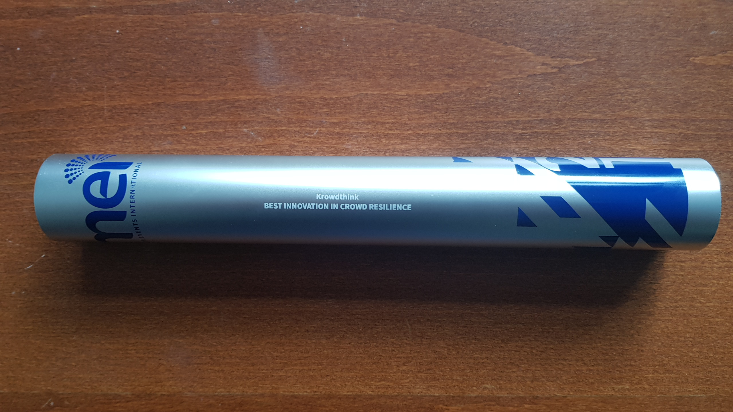 Krowdthink innovation Award Baton